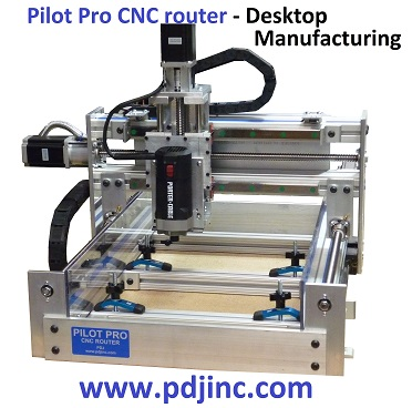 Pdj Pilot Pro Cnc Router Kits Parts Plans Assembled 3d