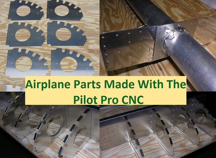 CNC airplane parts